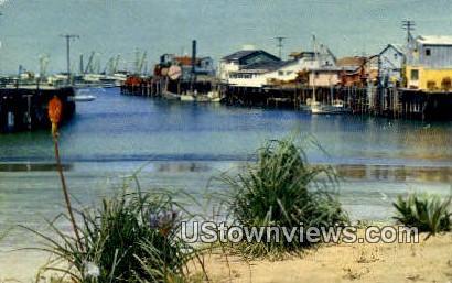 Fisherman's Wharf - Monterey, California CA Postcard