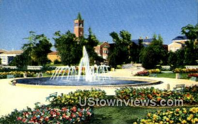 University of Southern Cali - Los Angeles, California CA Postcard