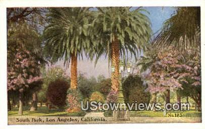 South Park - Los Angeles, California CA Postcard