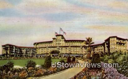 The Huntington Hotel & Bungalows - Pasadena, California CA Postcard