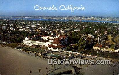 Coronado - California CA Postcard