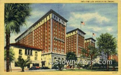 LA Biltmore - Los Angeles, California CA Postcard