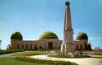 The Planetarium - Los Angeles, California CA Postcard
