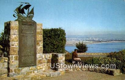 Cabrillo National Monument - San Diego, California CA Postcard