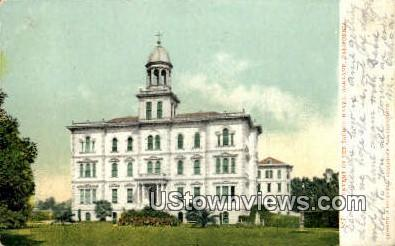 Convent of the Sacred Heart - Oakland, California CA Postcard
