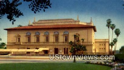 Civic Auditorium - Pasadena, California CA Postcard