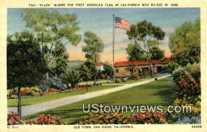 Old Town - San Diego, California CA Postcard