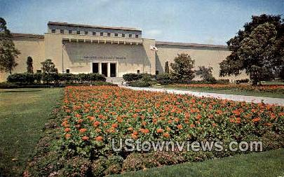 Los Angeles County Museum - California CA Postcard