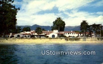 Santa Barbara Biltmore Hotel - California CA Postcard
