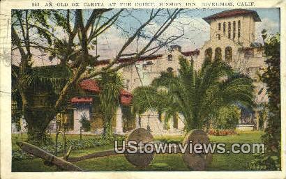 Old Ox Carita, Mission Inn - Riverside, California CA Postcard