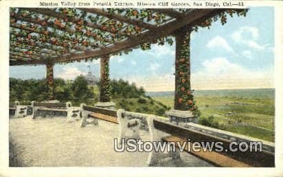 Mission Valley - San Diego, California CA Postcard