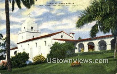 Junipero Serra Museum - San Diego, California CA Postcard