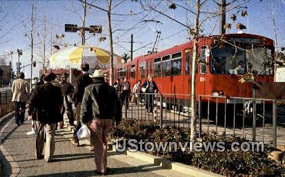 Trolley - San Diego, California CA Postcard