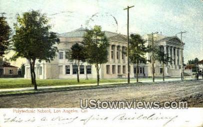 Polytechnic School - Los Angeles, California CA Postcard