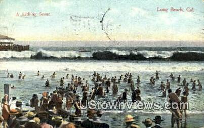 Long Beach - California CA Postcard