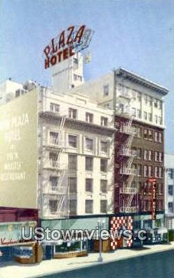 New Plaza Hotel - San Diego, California CA Postcard