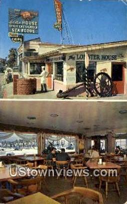 The Lobster House - Santa Barbara, California CA Postcard