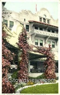 Bouganvilla, Hotel Potter - Santa Barbara, California CA Postcard