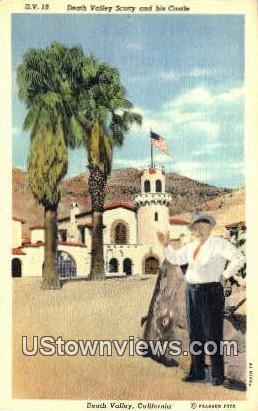 Death Valley Scotty - California CA Postcard
