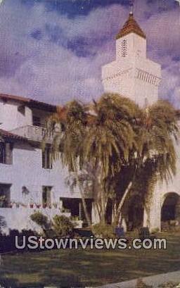 Mar Monte Hotel - Santa Barbara, California CA Postcard