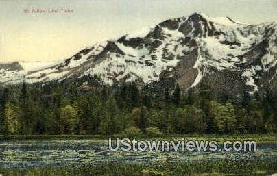 Mt. Tallac - Lake Tahoe, California CA Postcard