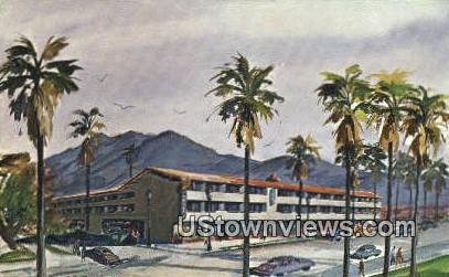 El Patio Motor Hotel - Santa Barbara, California CA Postcard