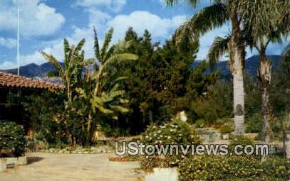 El Presidio Gardens - Santa Barbara, California CA Postcard