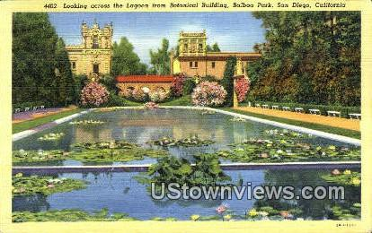 Botanical Bldg, Balboa Park - San Diego, California CA Postcard