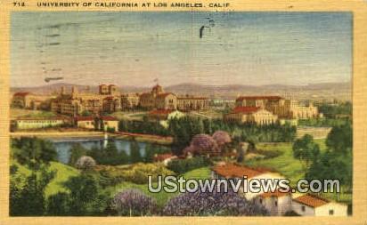 University of Cali - Los Angeles, California CA Postcard