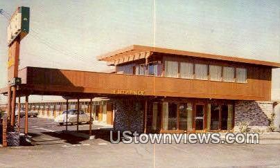 Continental Motel - Salinas, California CA Postcard