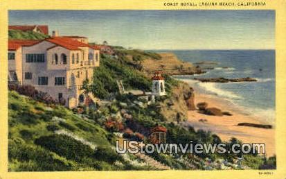 Coast Royal - Laguna Beach, California CA Postcard