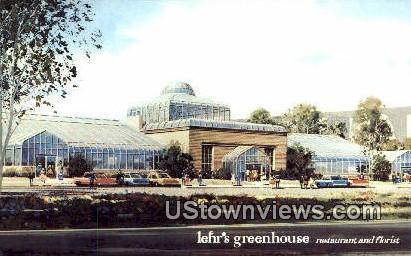 Lehr's Greenhouse - San Diego, California CA Postcard