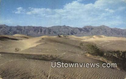 Death Valley - California CA Postcard