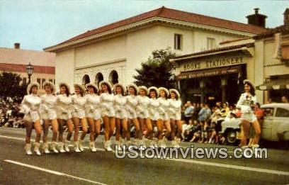 Parade Time - Santa Barbara, California CA Postcard