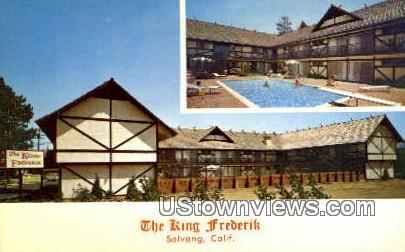 King Frederik - Solvang, California CA Postcard
