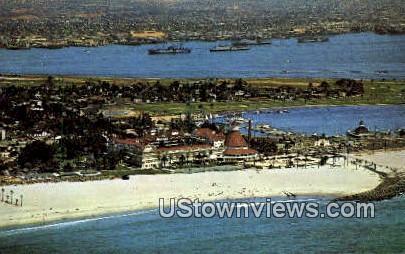 Del Coronado Hotel - San Diego, California CA Postcard