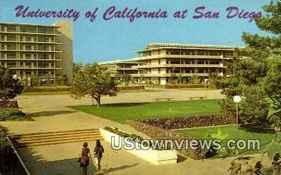 University of Cali - San Diego, California CA Postcard