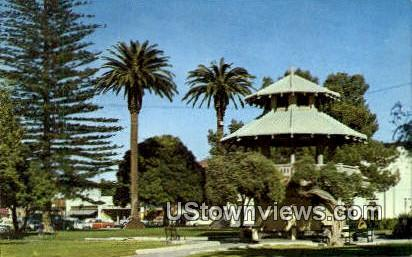 Band Stand - Oxnard, California CA Postcard