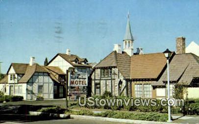Royal Copenhagen - Solvang, California CA Postcard