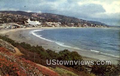 Laguna Beach - California CA Postcard