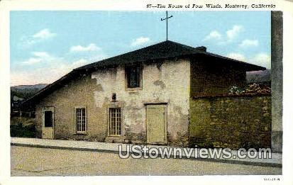 House of Four Winds - Monterey, California CA Postcard