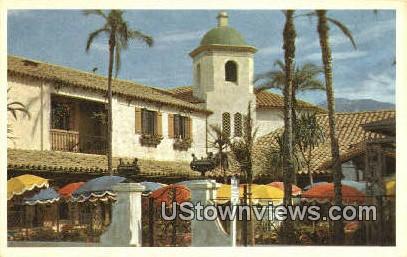 El Presidio - Santa Barbara, California CA Postcard