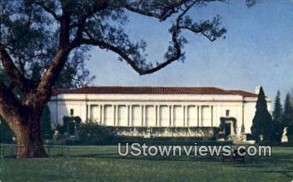 Huntington Library - Pasadena, California CA Postcard