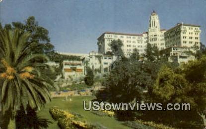 Vista del Arroyo - Pasadena, California CA Postcard