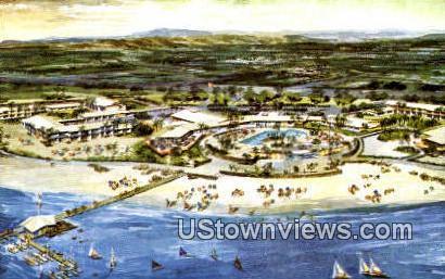 Del Webb's Ocean House - San Diego, California CA Postcard