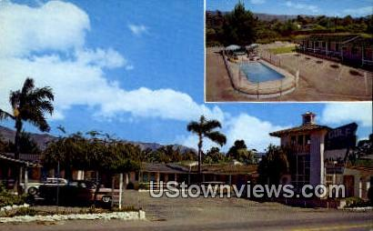 Golf Motel - Santa Barbara, California CA Postcard