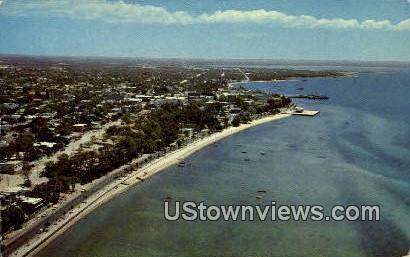 Vista Aerea De La Paz - Baja, California CA Postcard