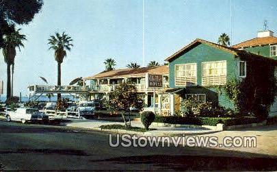 Ala Mar Motel - Santa Barbara, California CA Postcard