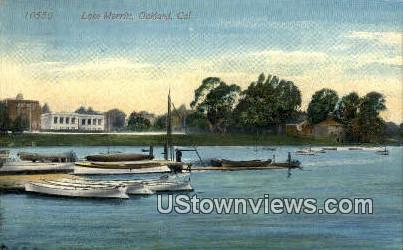 Lake Merritt - Oakland, California CA Postcard