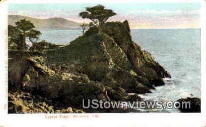 Cyprus Point - Monterey, California CA Postcard